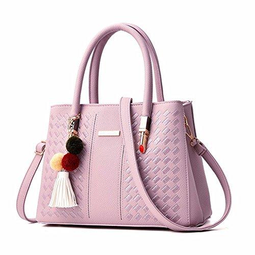 Main Sac Nouveau atmosphère 2018 Seul Simple à à violet Femme Style Sac GQFGYYL l'épaule BEwx16B