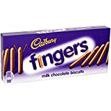 Cadbury biscuit covered with Milk Chocolate Fingers, 114g