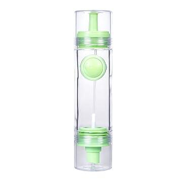 bestonzon Botella Aceitera con boquilla antigoteo para aceite salsas de cocina (verde