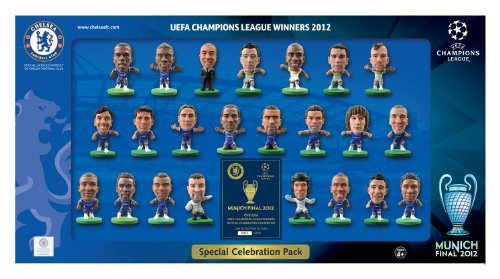SoccerStarz Limited Edition Chelsea Champions League Celebration Pack 2012 (23 Figures)