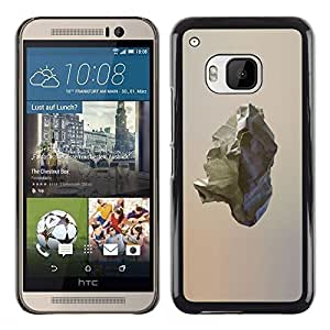 A-type Colorful Printed Hard Protective Back Case Cover Shell Skin for HTC One M9 ( Comet Asteroid Rock Minimalist Art )