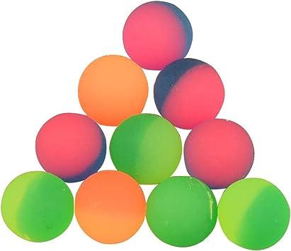 Toyvian 25mm Bicolor Que rebota la Bola Que Salta los Juguetes de ...