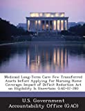 Medicaid Long-Term Care: Few Transferred Assets Before Applying for Nursing Home Coverage; Impact of Deficit Reduction Act on Eligibility Is Un