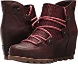 Sorel Women's Sandy Wedge Booties, Redwood, 7.5 B(M) US