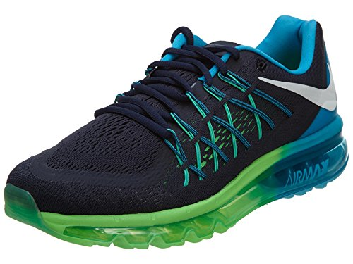 Nike Air Max 2015 Men US 8 Black Running Shoe