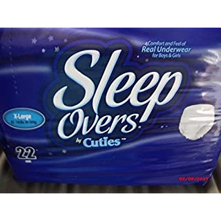 Sleep Overs X- Large XL 85lb-140lb