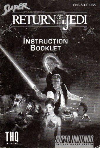 Super Star Wars - Return of the Jedi SNES Instruction Booklet (Super Nintendo Manual Only) (Super Nintendo Manual)