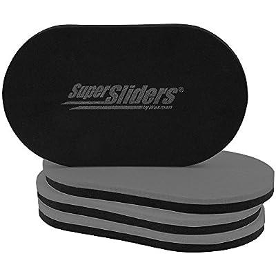 SuperSliders 4704095N Reusable XL Heavy Furniture