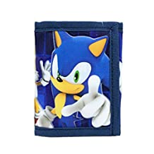 Wallet - Sonic the Hedgehog - w/Kunckles/Tails Tri-Fold New sh30167