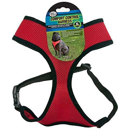 Four Paws Extra Large Red Comfort Control Dog Harness - Four Paws Leads