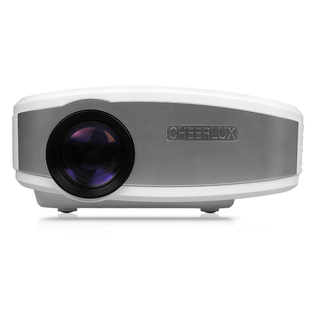 CHEERLUX portátil proyector, Mini Proyector LED, 800 x 480 píxeles ...