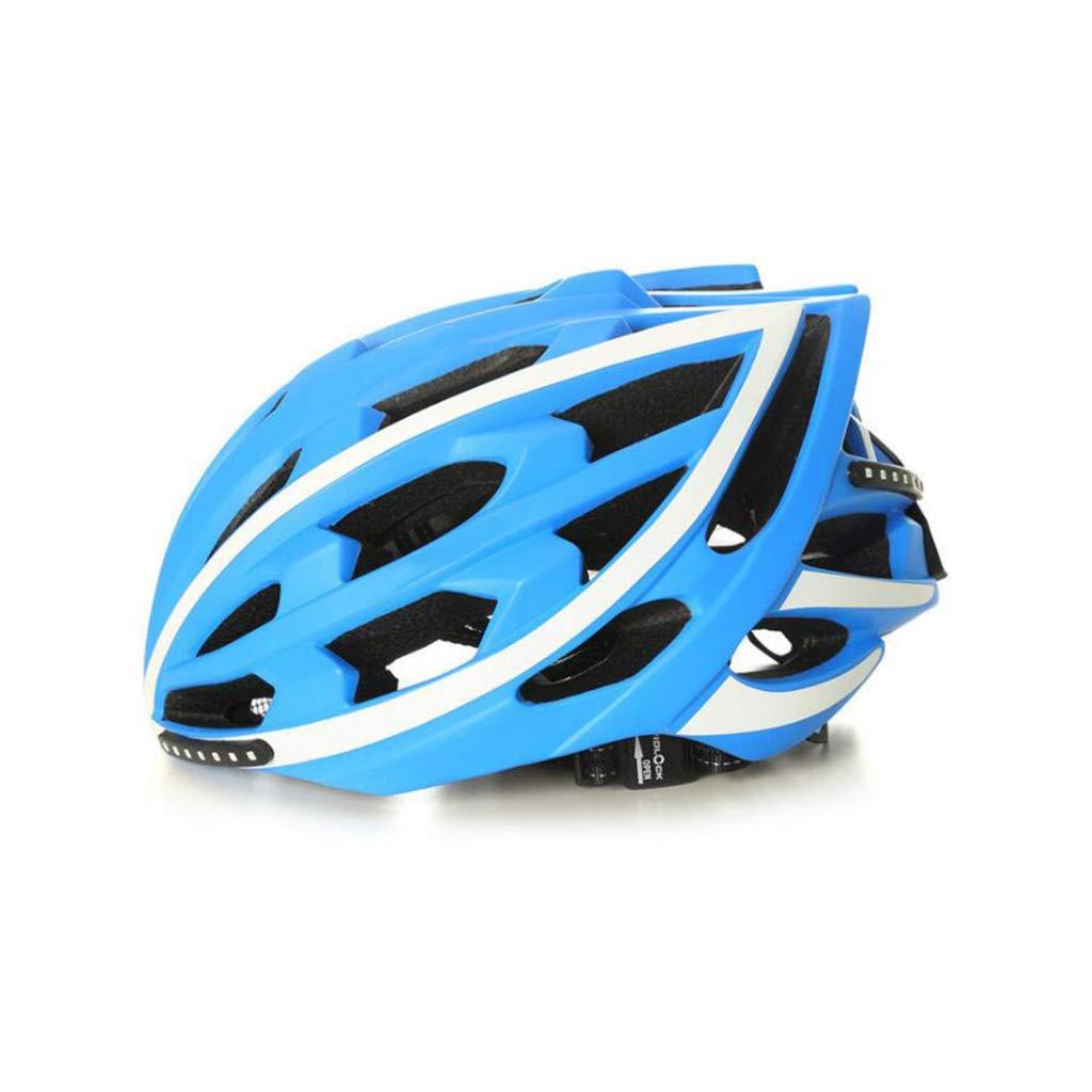 リアル 自転車ヘルメット L、ロードマウンテンバイクヘルメット調整可能な軽量アダルトヘルメットバイクレーシングセーフティキャップ - LEDインジケータ B07PSN45XS LEDインジケータ B07PSN45XS L l, 小松市:642abd47 --- a0267596.xsph.ru