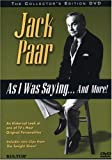 Buy Jack Paar - As I Was Saying...And More!