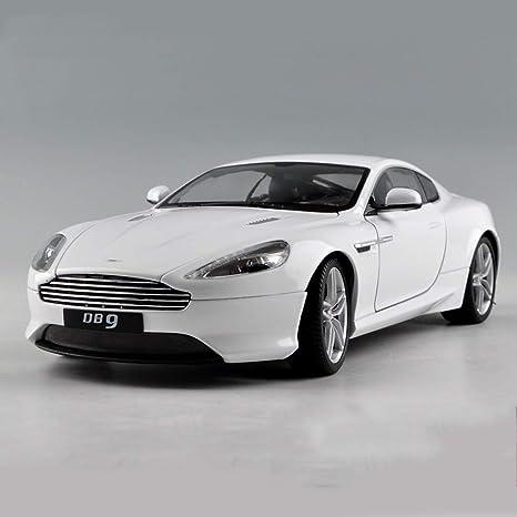 Pengjie Model 1 18 Aston Martin Db9 Sport Auto Modell Auto Simulation Legierung Auto Modell Geburtstagsgeschenk Farbe Weiß Amazon De Küche Haushalt