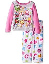 Shopkins girls Shopkins 2-piece Fleece Pajama Set