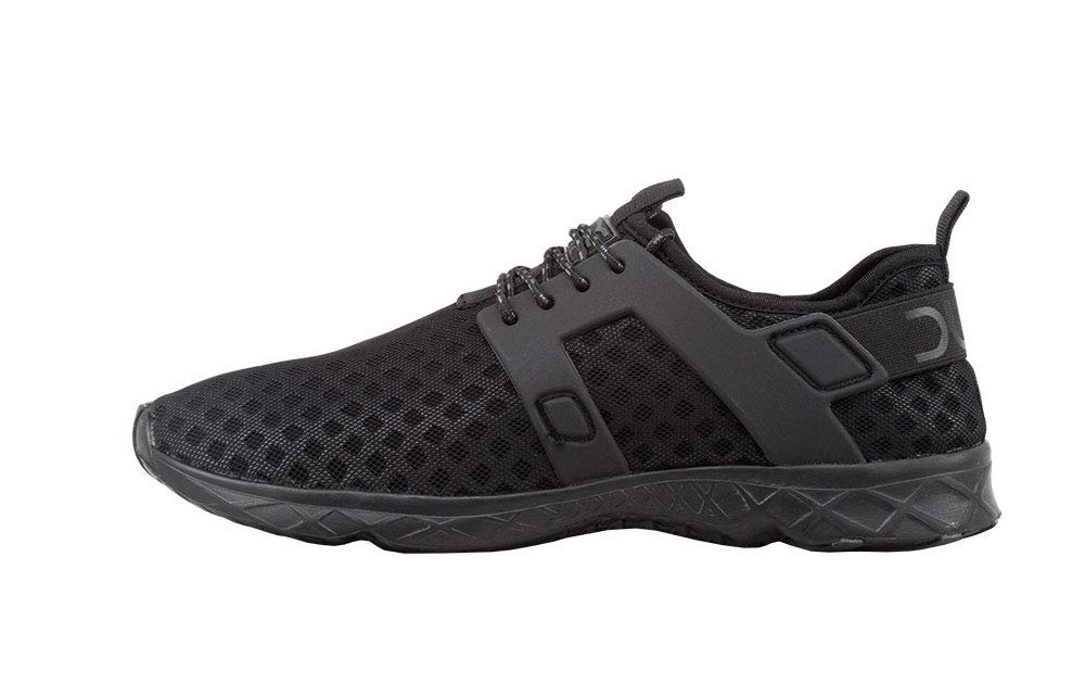Hey Dude Men's Mistral Total Black, Size 11 by Hey Dude