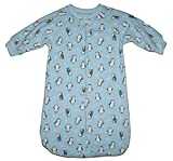 Child of Mine By Carter's Baby Boys 0-9 M Fleece Sleep Bag (Blue Penguin)