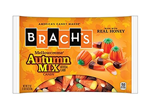 Brach's Autumn Mix Candy ( Mellowcreme, Candy Cone, Indian Corn), pack of 2 ( 44oz/ (Halloween Mellowcremes)