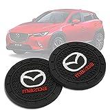 Auto sport 2.75 Inch Diameter Oval Tough Car Logo