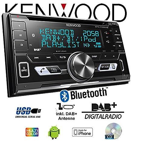 Mercedes A-Klasse W169 Audio 20 Autoradio Radio JVC KW-DB93BT Einbause 2-DIn DAB+ Bluetooth MP3 USB Einbauzubeh/ör