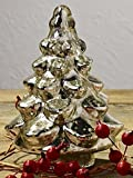 Mercury Glass Fir Christmas Tree