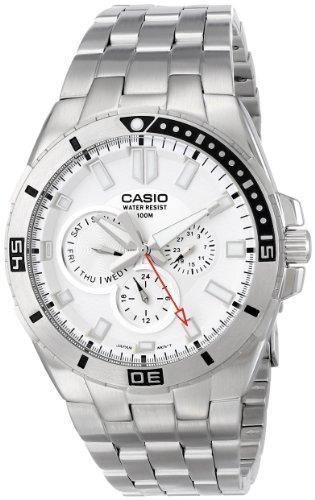 Casio Men's MTD-1060D-7AVDF Divers Stainless Steel Watch