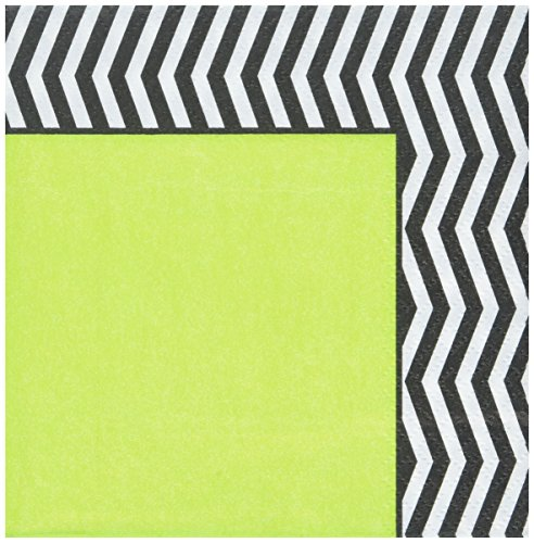 Designer Chevron Beverage Napkins, 16ct]()