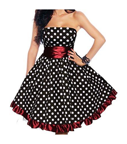 Schwarz Rot Weiß Rockabilly Weiß Schwarz Kleid Rockabilly Kleid Schwarz Rot Rockabilly Kleid Kleid Rot Schwarz Rockabilly Weiß W6cFAxc7v