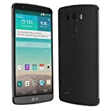 Skinomi TechSkin - LG G3 Screen Protector + Carbon Fiber Full Body Skin Protector / Front & Back Premium HD Clear Film / Ultra Invisible and Anti-Bubble Crystal Shield