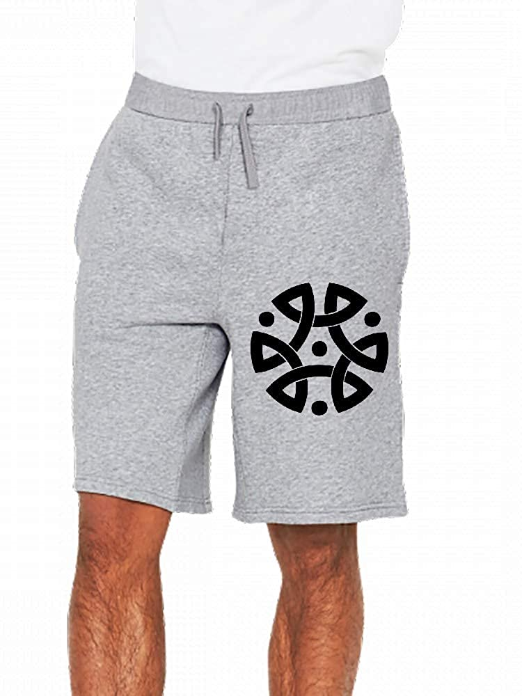 JiJingHeWang Triskel Mens Casual Shorts Pants