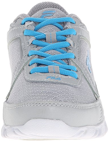 Running Hour Women's Ethereal 4 Highrise Finest Blue Shoe Fila Silver Dark 64ZWqI0n4
