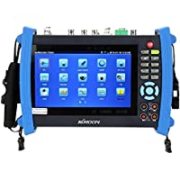 KKmoon 7 inch Touch Screen 1080P HDMI IP Camera CCTV Onvif Tester Monitor AHD/SDI/TVI/CVI PTZ/POE/WIFI/DMM/TDR/Cable Tracer/Optical Power Meter/Visual Fault Locator IPC-8600MOVTSADH