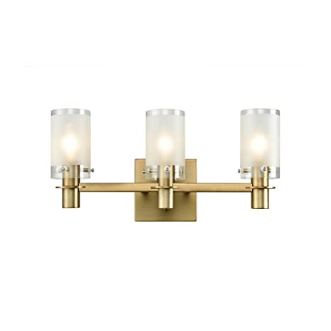 3 light bathroom fixture three light axiland vanity wall sconce light bathroom fixture with explosionproof frosted glass shade explosion
