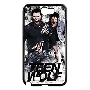 C-EUR Diy Phone Case Teen Wolf Pattern Hard Case For Samsung Galaxy Note 2 N7100