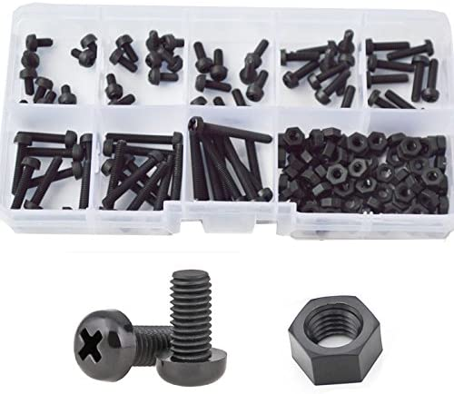 5mm NYLON PLASTIC DOME NUTS FOR M5 /& 5mm THREADED BOLTS /& SCREWS NEW PACK x 5