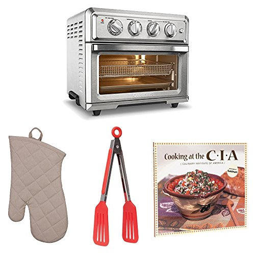 Price comparison product image Cuisinart TOA60 Air Fryer Toaster Oven w / Cookbook & Kitchen Tool Bundle
