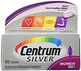 Centrum Silver Women (100 Count) Multivitamin/Multimineral Supplement Tablet, Vitamin D3, Age 50+