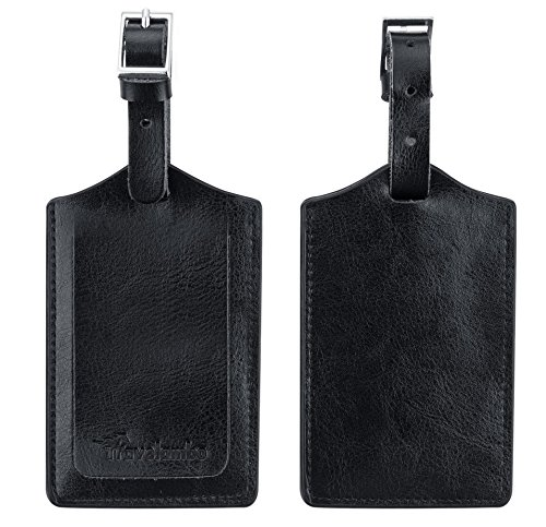 travelambo-genuine-leather-luggage-bag-tags-2-pieces-set-black