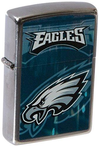 - Zippo NFL Philadelphia Eagles Street Chrome Pocket Lighter