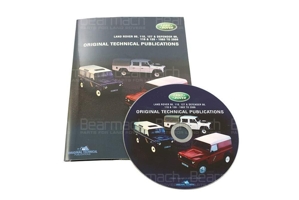 BEARMACH OEM - Parts CD - Defender 1983-2006 Part# LTP3003