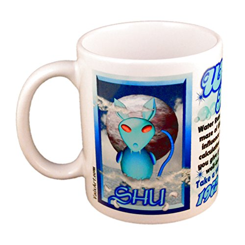 Astrology Zodiac Water Rat Years 1972 2032 Cup/Mug ()