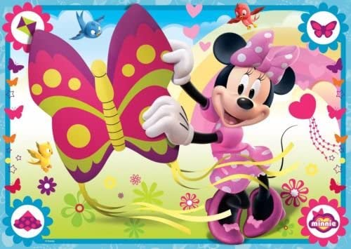 Sensational Cakeusa Minnie Mouse With Butterfly Party Birthday Cake Topper Funny Birthday Cards Online Overcheapnameinfo