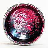 YoYofficer Rave Aluminum Yo-Yo (Black Pink)