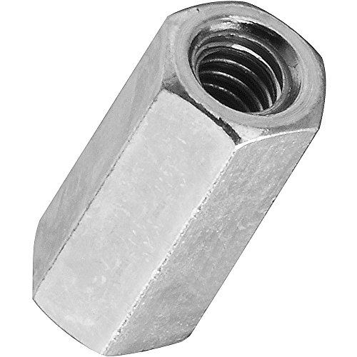 National Hardware N182-659 4003 Couplers - Course Thread in Zinc, 10-24