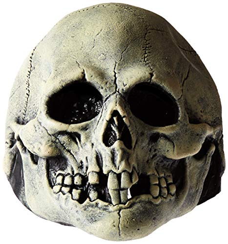 Trick or Treat Studios Nightowl Skull-Black and White, Multi, One Size -