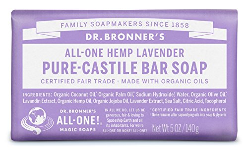 Dr Bronners Pure Castile Bar Soap product image