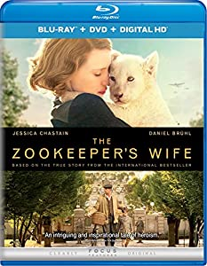 Cover Image for 'The Zookeeper's Wife [Blu-ray + DVD + Digital HD]'