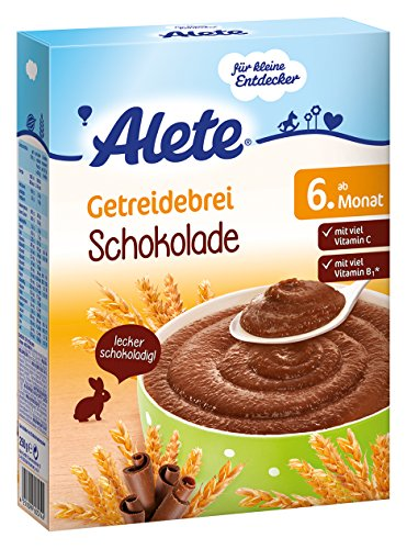 Alete Getreidebrei  Schokolade, 9er Pack (9 x 250 g)