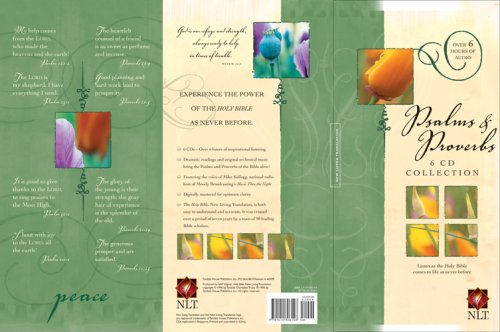 - Psalms & Proverbs: New Living Translation 6 CD Collection (NLT)