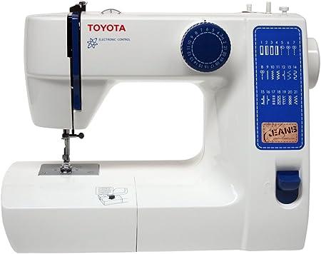 Toyota JFS21 - Máquina de coser: Amazon.es: Hogar